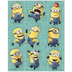despicable minion party stickers package sheets