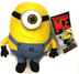 despicable deluxe plush figure minion stewart