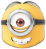 official despicable mask stuart minion character