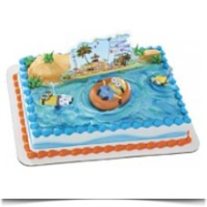 Despicable Me 2 Beach Party Deco Set