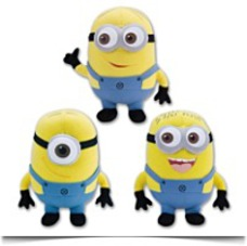 On SaleDespicable Me 3 Piece Set Minions 9 Inch