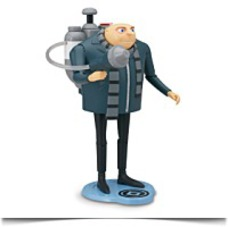 Gru Deluxe Action Figure With H2O Shooter