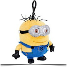 Plush Clipon Minion Jerry