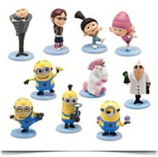 Pvc 2 Inch Mini Figure 10PIECE Set