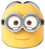 official despicable mask dave minion character