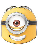 Official Despicable Me 2 Mask